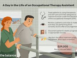Occupational Therapy Aide Occupational Therapy Assistant Job Description Salary