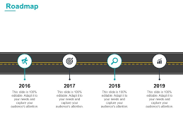 Roadmap 2016 To 2019 L841 Ppt Powerpoint Presentation