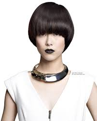 Asian Hair Style Women short bowl cut hairstyle with shine for asian hair 3228 by stevesalt.us