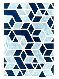 blue geometric rug blue geometric rugs navy rug yarn loom rhombus in grey and white teal