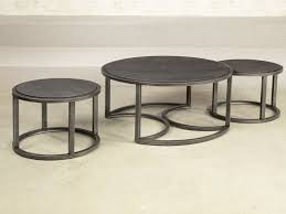 Furniture: Round Nesting Coffee Table Beautiful Hammary 297 911 Rotation  Round Nesting Cocktail Table With