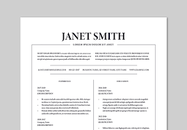 Modern 2020 Resume Template Get Ahead With These Adobe Stock Resume Templates Adobe Blog