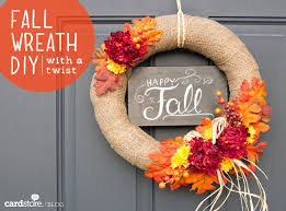 How to make a gorgeous fall wreath for under $30 {DIY} | Cardstore Blog