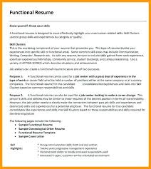 Functional Resume Example 2017 Functional Resume Template Free ...