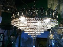 pendant light stained glass chandelier crystal earrings swarovski red chan