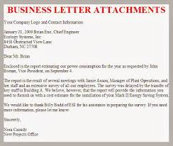 Business Letter With Attachments Resume Pdf Download