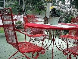 exciting painting metal table spray paint for metal outdoor furniture painting metal outdoor furniture metal patio