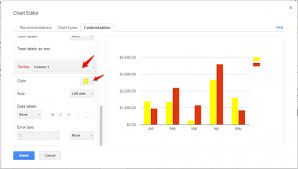 How To Create A Bar Chart In Google Sheets How To Change Graph Colors In Google Sheets