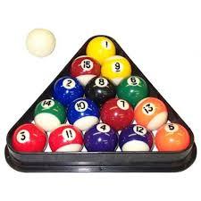 pool table balls. Exellent Balls Amazoncom  DAD 5IVE USA Mini Pool Balls Set 15Inch Billiard Set  With Triangle Rack Sports U0026 Outdoors For Table M