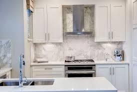 new marble backsplash tile