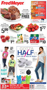 the new fred meyer ad started yesterday sunday march 4th and runs through saay march 10th as always make sure to check out fred meyer s es