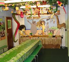 Jungle Decoration Party Decorations Jungle New Themes For Parties