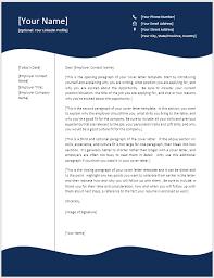 Creative Cover Letter Template Seminarie