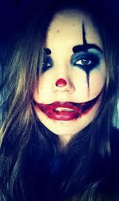 clown creepy diy makeup make up makeup