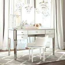 mirrored vanity furniture. Vanity Table Mirrored Crescent Leg With 2 Drawers . Furniture S