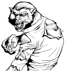 Small Picture Beautiful Werewolf Coloring Pages 63 For Your Coloring for Kids