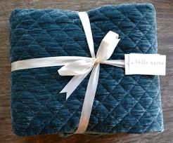 Teal Velvet Throw Blanket