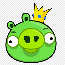 Angry Bird king pig illustration, Bad Piggies Angry Birds Star Wars Angry  Birds Epic Angry Birds 2, Angry Birds, game, leaf, video Game png