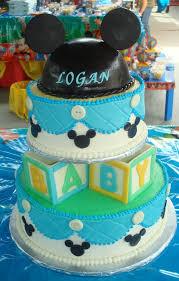 Mickey And Minnie Baby Shower Cake  CakeCentralcomBaby Mickey Baby Shower Cakes
