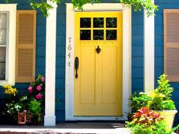 Exterior Colorful Door