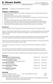 Resume Objective For Executive Assistant Resume Sample Executive ...