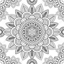 Pattern Bohemian Coloring Pages Print Coloring