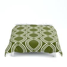 olive green duvet cover sets
