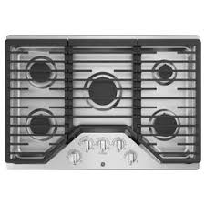 36 inch gas cooktop with downdraft. Plain Inch GE 5Burner Gas Cooktop Stainless Steel Common 30 In On 36 Inch With Downdraft D
