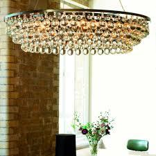 contemporary chandelier glass nickel bronze arctic pear