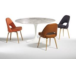 saarinen organic chair. Eero Saarinen Pedestal Collection Tables Dining Table Executive Armless Chair Organic