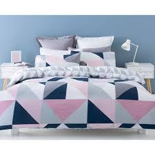 Jasper Reversible Quilt Cover Set - Single Bed | Kmart | GEOS ...