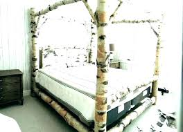 Cheap Wood Canopy Bed Frames Four Poster Frame Twin Home Improvement ...