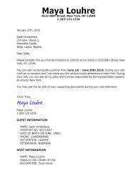 Invitation Letter For Us Visa Lettering Invitations Writing
