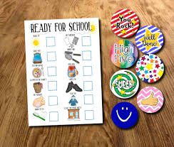 Adhd Morning Routine Chart Kids Ready For School Boys Morning Routine Morning Chart School Morning Planner