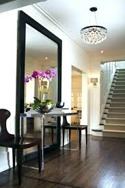 round entryway mirror large entryway table tableirrors full length mirror with chairs in images
