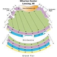 Lansing Center Seating Chart Wharton Center Tickets Wharton Center Events Concerts In