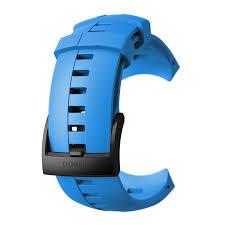 Силиконовый <b>ремешок</b> для <b>Suunto Spartan Sport</b> Wrist HR Blue