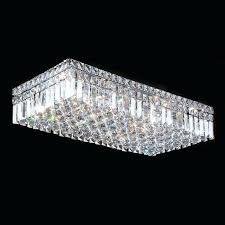 flush mount crystal chandelier cascade 6 light chrome finish and clear crystal flush mount ceiling light flush mount crystal chandelier
