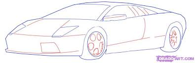 car drawing easy step by step. Contemporary Easy How To Draw A Lamborghini Step By Step Cars Cars Online With Car Drawing Easy By G