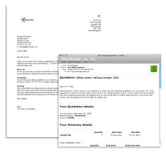 price quotation format doc travel mail merge and templated document design