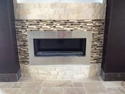 decoration fireplace designs with tile modern stone mosaic marble floor design pictures living room between black walls mos