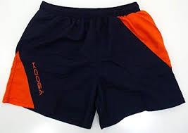 Kooga Rugby Gym Shorts Navy Orange Size Xxl Amazon Co Uk