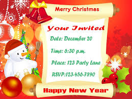 christmas party invitations party ideas well before time so all your guests get ready for attending your party excitement see the sample christmas party invitations given below