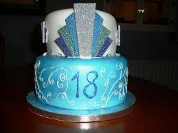 18th Birthday Cake Decorating Ideas Classic Style Simple 18th