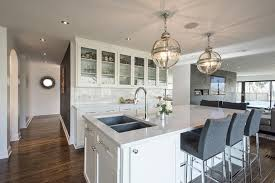 View Full Size. Stunning Kitchen Features A Pair Of Restoration Hardware Victorian  Hotel Pendants ...