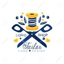 Fashion Designer Logo Design Tailor Shop Logo Design Sewing Company Fashion Designer Emblem