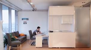 Office in a box furniture Office Desks Cityhomes Office Configuration Building Design Construction Mit Researchers Create home In Box Transformable Wall System For