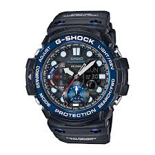 g shock watches men s and ladies h samuel casio g shock gulfmaster black dial black resin strap watch product number 3671119