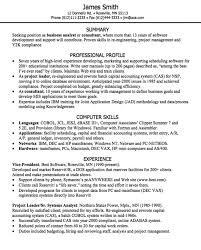 Resume For Business Analyst Position Extraordinary Business Analyst Resume Sample Httpexampleresumecvorgbusiness