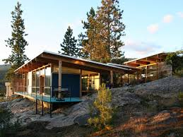 Small Picture Modern Cabin in Canadian Rocky Mountains Mountain modern Modern
